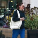 Rooney Mara – Treats herself to a spa day in Los Angeles