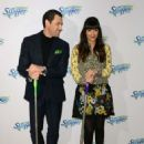 Hannah Simone at Swiffer's 18th Birthday celebration in New York City - 454 x 681