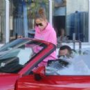 Jennifer Lopez – seen leaving the gym in Miami