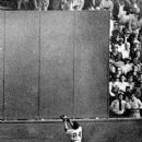 Willie catching Vic Wertz's long drive in 1954 World Series