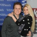 Spencer Pratt and Heidi Montag meet fans and sign copies of OK! Magazine at Brent Cross Shopping Centre on February 2, 2013 in London, England - 399 x 594