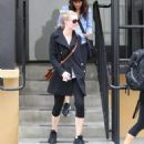 Kirsten Dunst leaving the gym in Studio City - March 26, 2011