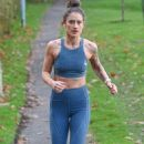 Katie Waissel – Going for an early morning exercise in London