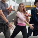 Chrystiane Lopes as Sarah Thompson/Ninja Steel Pink Ranger in Power Rangers Ninja Steel