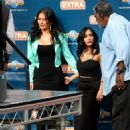 Nicole 'Snooki' Polizzi stop by the 'Extra' set January 26,2015 - 454 x 600