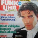 Antonio Banderas - Funk Uhr Magazine Cover [Germany] (12 August 1995)