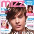 Zac Efron - Mizz Magazine Cover [United Kingdom] (30 October 2008)