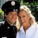 Steve Guttenberg and Shawn Weatherly