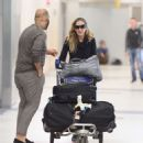 Sarah Jessica Parker – Arrives at JFK airport in New York City - 454 x 511