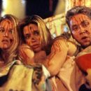 Joannah Portman, Kristen Miller and Michael Weston in USA Films' Cherry Falls - 2000