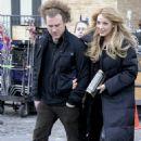 "Blake Lively On The Set Of ""Gossip Girl"" Shooting In Manhattan, New York City 2008-03-20"