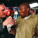 """L-r: David Zayas as Robert Torres, Mos Def as Eddie Bunker and Cylk Cozart as Jimmy Mulvey in Alcon Entertainment and Millennium Films' action thriller """"16 Blocks,"""" also starring Bruce Willis and David Morse and distributed by Warner Bro"""