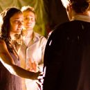 "(Left to right) Lily (Jessica Lucas) and Rob (Michael Stahl-David) try to enlist Hud's (T.J. Miller) help to rescue a friend in a collapsed building in ""Cloverfield.""Photo Credit: Sam Emerson. © 2008 by Paramount Pictures. All Rights Res"