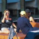 Ashley Benson – Enjoys a day on a boat with friends in Miami