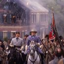 Bo Brinkman (left) and Robert Duvall in Ted Turner Pictures sweeping epic 'Gods and Generals,' also starring Jeff Daniels and Stephen Lang, distributed by Warner Bros. Pictures.