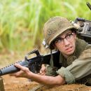 "Young actor Kevin Sandusky (Jay Baruchel), get his first major acting assignment in an epic war movie that goes awry in the action comedy ""Tropic Thunder."" Credit: Merie Weismiller Wallace. ©2008 DreamWorks LLC. All Rights Reserved."