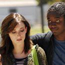 Tru (Najarra Townsend) and Lodell (Matthew Thompson) in drama romance 'TRU LOVED.'