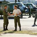 Mel Gibson and Greg Kinnear in Paramount's We Were Soldiers - 2002