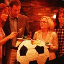Barbara and Phil Weston (Kate Walsh and Will Ferrell) talk strategy with the other Tiger parents (Rachel Harris, Laura Kightlinger) - Kicking and Screaming 2005