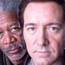 Morgan Freeman (Ashford) and Kevin Spacey (Detective Wallace) in Nu Image/Millennium Films' drama Edison - 2006