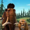 Manny(voiced by Ray Romano), Diego (voiced by Denis Leary), Sid (voiced by John Leguizamo) in Ice Age 2 - 2006