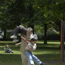 Paul (Peter Paige) and friends playing in the park in SAY UNCLE - 454 x 683