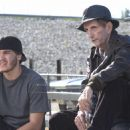 Emile Hirsch as Johnny and Harry Dean Stanton as Cosmo Gadabeeti in Universal Pictures upcoming film, Alpha Dog.