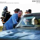 Left: Director Ray Lawrence; Right: Laura Linney. Photo by Matt Nettheim © April Films (JINDABYNE) P/L 2006, courtesy Sony Pictures Classics. All Right Reserved.