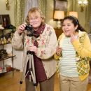 Shirley Knight as 'Mom' and Raini Rodriguez as 'Maya Blart' in Columbia Pictures' comedy PAUL BLART: MALL COP. Photo credit: Richard Cartwright. © 2009 Columbia Pictures Industries, Inc. and Beverly Blvd LLC All Rights Reserved.