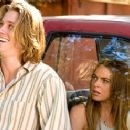 Garrett Hedlund and Lindsay Lohan play as Rachel and Harlan in Universal Pictures' Georgia Rule - 2007