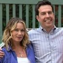 Ed Helms and Christina Applegate