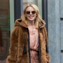 Kylie Minogue – Leaving her hotel in Brussels
