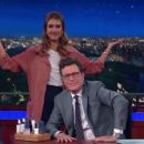 Jessica Alba - The Late Show with Stephen Colbert - 454 x 255