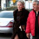 Sharon Stone on the Movie set of Fading Gigolo. november 29,2012