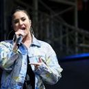 Demi Lovato – Performs at Newmarket Racecourse in Suffolk