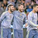Manchester City 1-4 Real Madrid: Cristiano Ronaldo and Karim Benzema strike as Fabian Delph limps off injured on debut