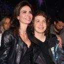 Luciana Gimenez and son Lucas Jagger - 2017 - 454 x 377