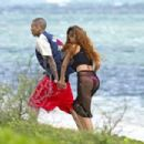 Rihanna and Chris Brown celebrated her 25th birthday in Oahu, Hawaii on Wednesday February 20,2013