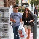 Joe And Ashley Holding Hands Shopping