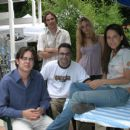 Colin Hanks, Director Eric Nicholas, Jonathon Trent, Jordana Spiro and Ana Claudia Talancon in Alone with Her - 2007