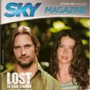 Evangeline Lilly, Josh Holloway - Sky Magazine Cover [Italy] (October 2007)