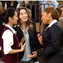 (L to R) BRENDA SONG, MARGO HARSHMAN, RAVEN-SYMONÉ in COLLEGE ROAD TRIP © Disney Enterprises, Inc. All rights reserved. Photo Credit: John Clifford.