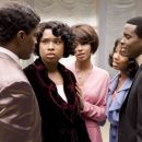 L to R: Jamie Foxx, Jennifer Hudson, Beyonce Knowles, Anika Noni Rose and Keith Robinson in Paramount Pictures' Dreamgirls - 2006