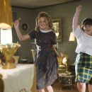 "Amanda Bynes (left) stars as ""Penny Pingleton"" and Nikki Blonsky (right) stars as ""Tracy Turnblad"" in New Line Cinema's upcoming release of Adam Shankman's HAIRSPRAY. Photo Credit: ©2007 David James/New Line Cinema"