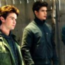 Pouge (Taylor Kitsch), Tyler (Chace Crawford), Caleb (Steven Strait) and Reid (Toby Hemingway) in Columbia Pictures', The Covenant 2006.