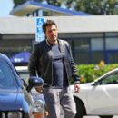 Ben Affleck picks his daughter up from Summer School in Los Angeles, California on July 15, 2016