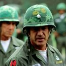 Sam Elliott and Mel Gibson in Paramount's We Were Soldiers - 2002