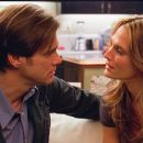 "(L-r) Carl (JIM CARREY) comforts Stephanie (MOLLY SIMS) after her recent break up in Warner Bros. Pictures' and Village Roadshow's comedy ""Yes Man,"" distributed by Warner Bros. Pictures. Photo courtesy of Warner Bros. Pictures"