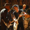 "(Left to right) Buddy Guy, Keith Richards and Charlie Watts performing onstage at the Beacon Theater during the Rolling Stones concert film ""Shine A Light."" Photo Credit: Kevin Mazur. © 2008 by WPC Piecemeal, Inc. All Rights Reserved."