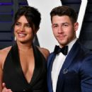 Priyanka Chopra and Nick Jonas : 2019 Vanity Fair Oscar Party - 454 x 340